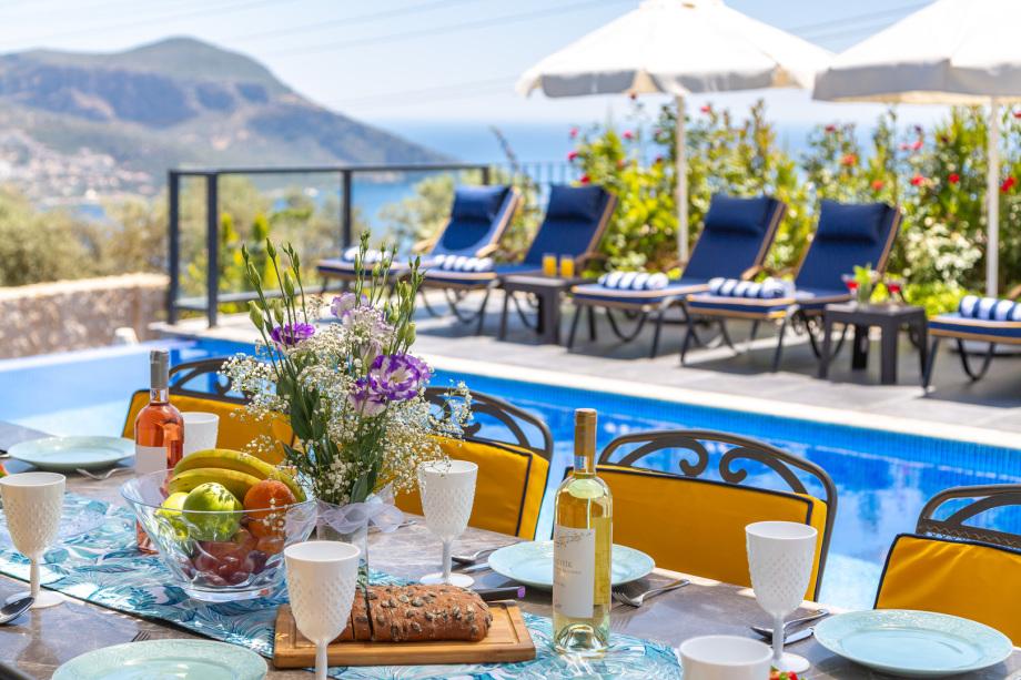 Luxury 5 bedroom villa in Kalkan with 2 pools