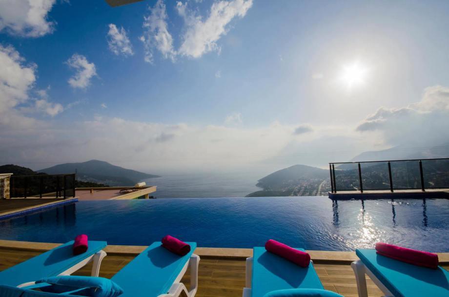 A 4 bedroom villa in Kalkan for holiday rental