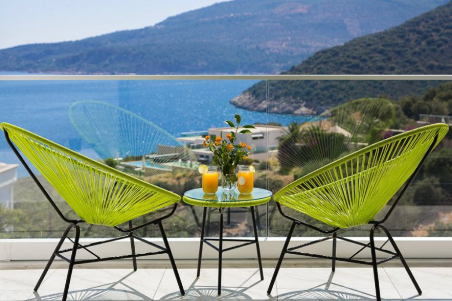 A 4 bedroom villa in Kalamar Bay, Kalkan