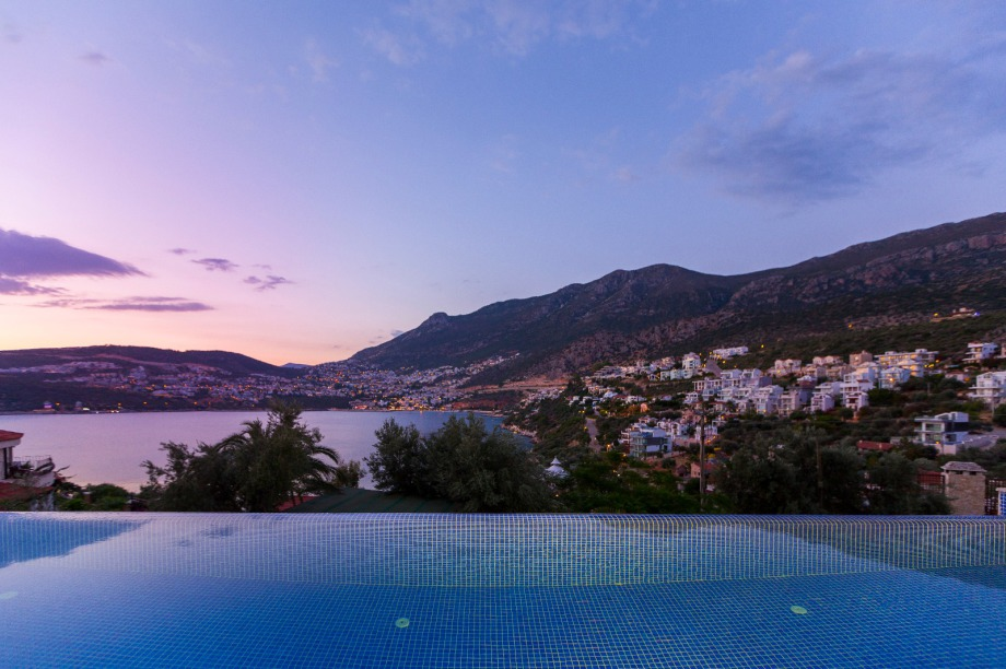A 5 bedroom villa in Kalkan with own pool