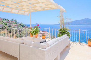 A 3 bedroom apartment in Kalkan