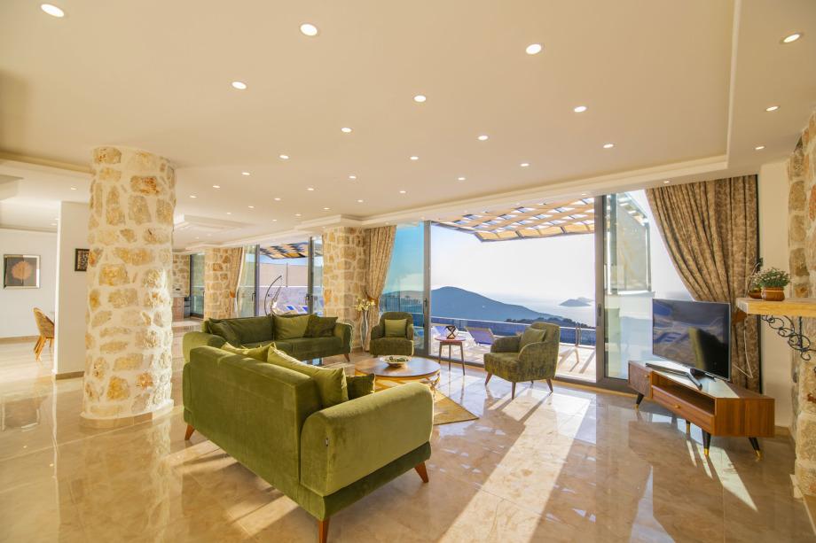 5 bedroom villa in Kordere, Kalkan for holiday rental