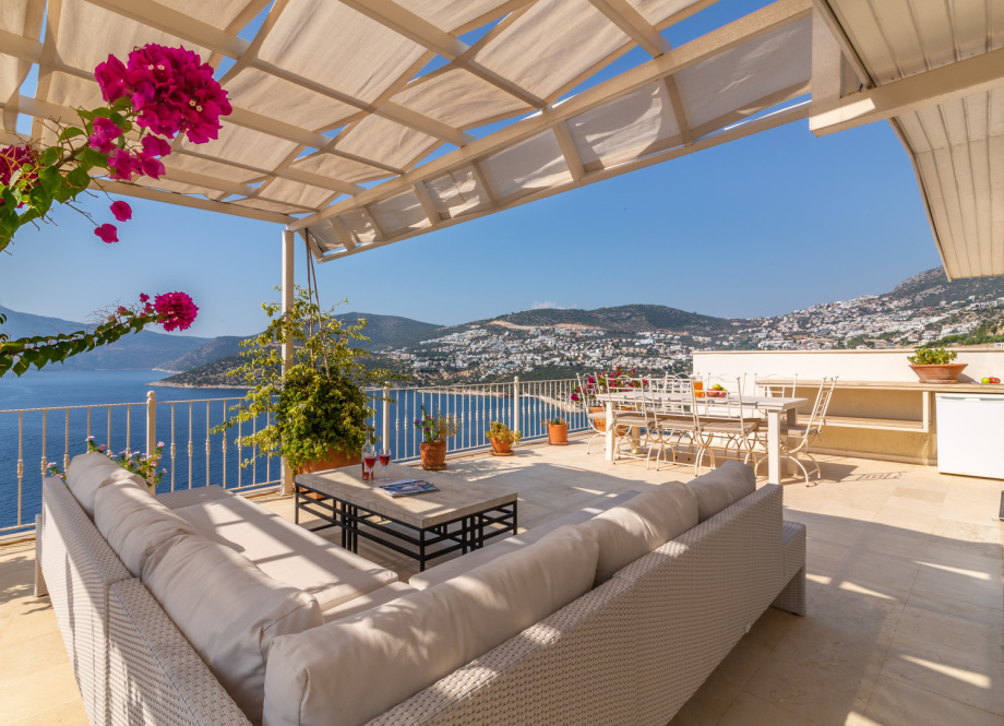 A penthouse apartment in Kormurluk, Kalkan