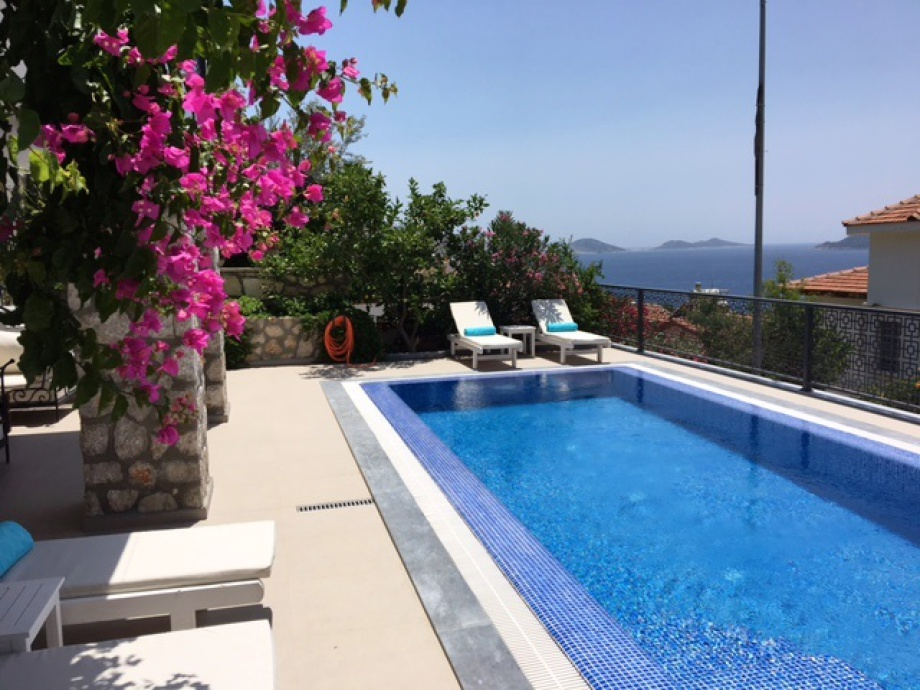A 3 bedroom villa in Kalamar Bay, Kalkan