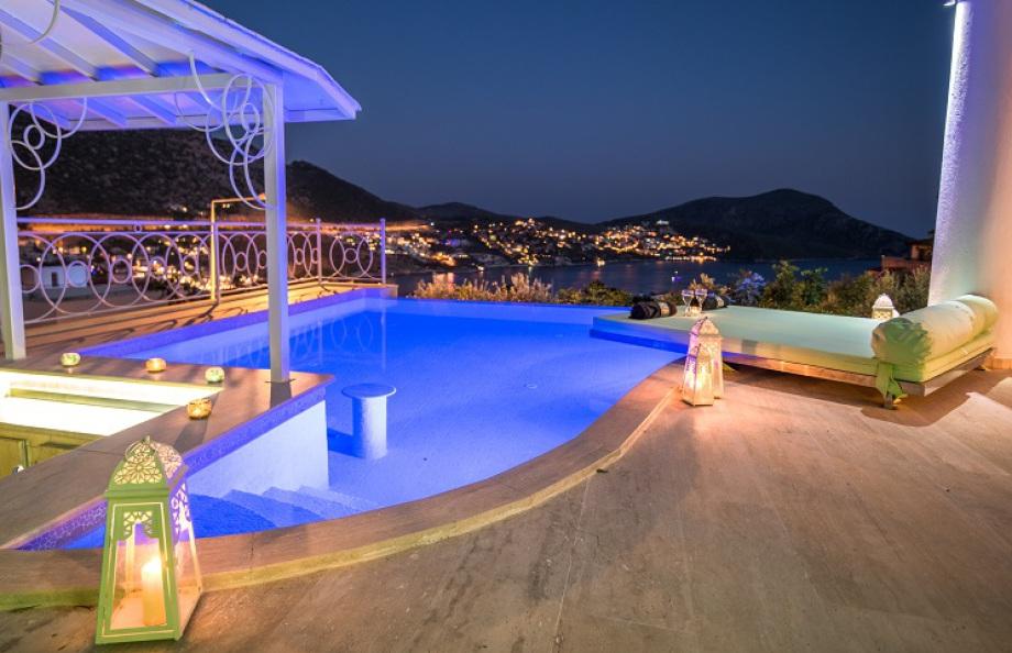 4 bedroom villa in Kalkan with own pool