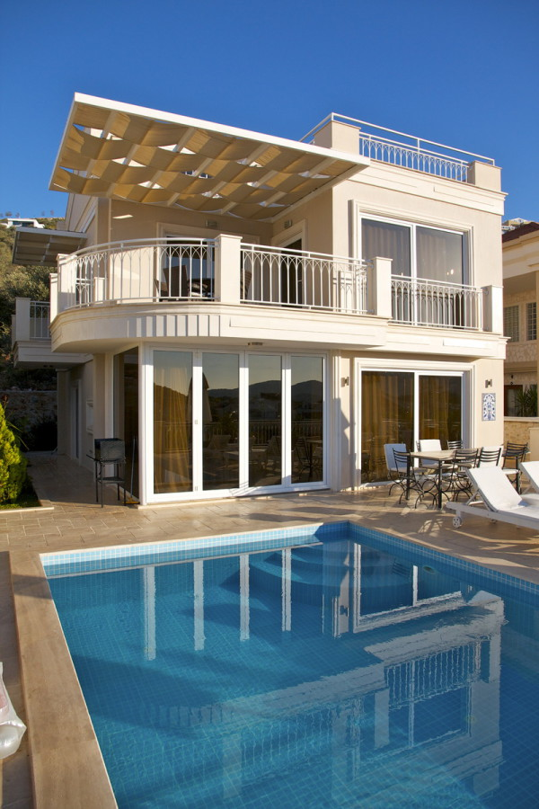 luxury 5 bedroom villa in kalkan for holiday rental