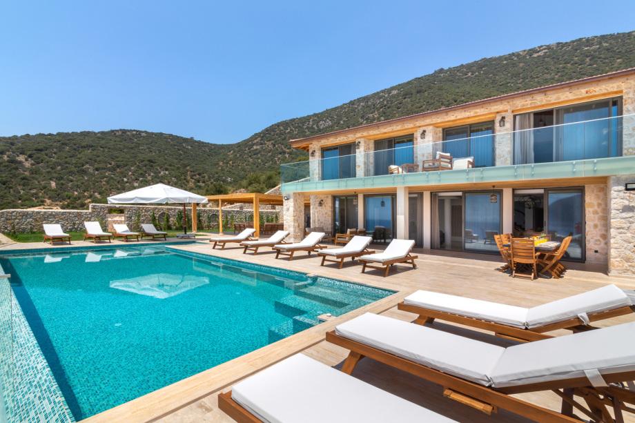 Villa Spectre, Kalkan, Turkey - luxury 4 bedroom villa
