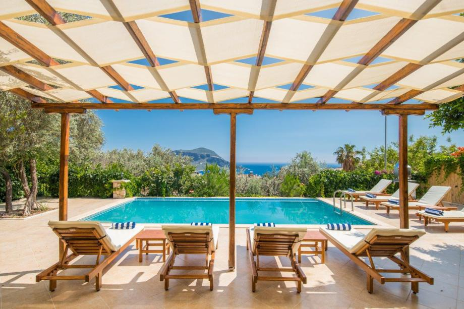 A 4 bedroom villa in Kalkan for holiday rental