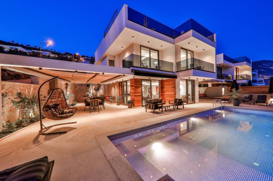 3 and 4 bedroom villas in Kalkan, Turkey