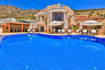 6 bedroom holiday villa in kalkan