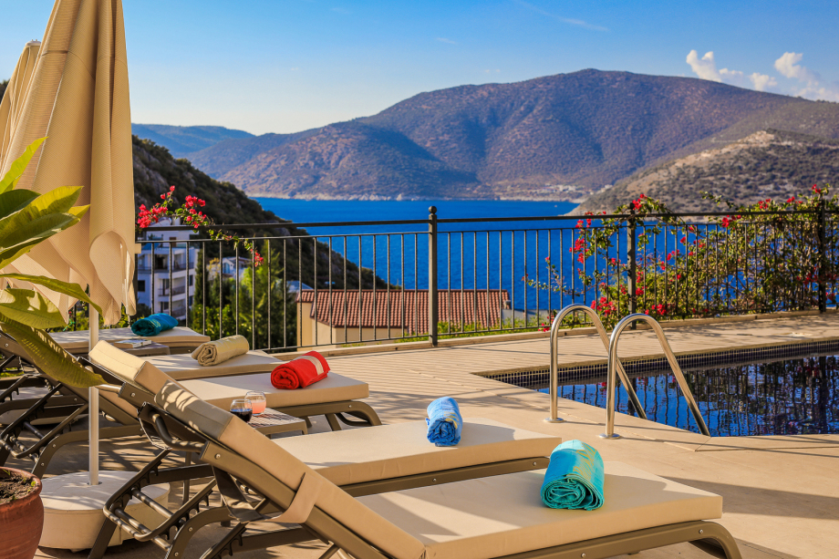 Villa Manzara, Kalkan, Turkey. 4-bedroom villa with own pool