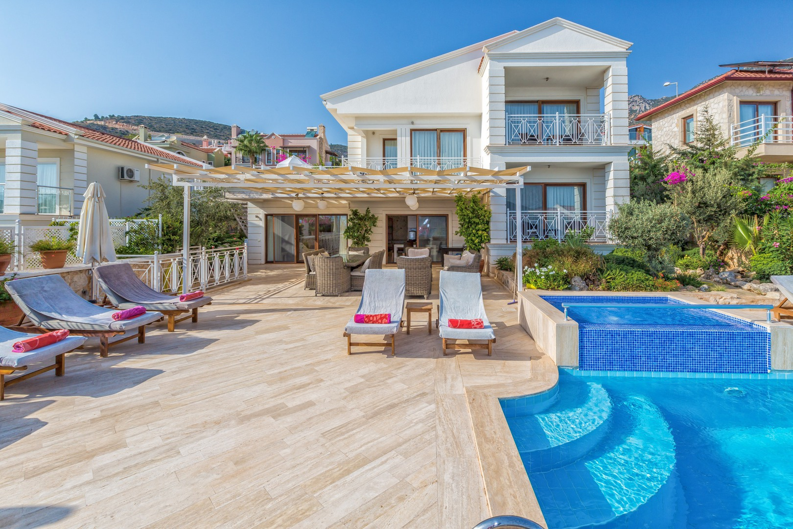 Villa Dalkiran, Kalkan. 5 bedroom villa with own pool