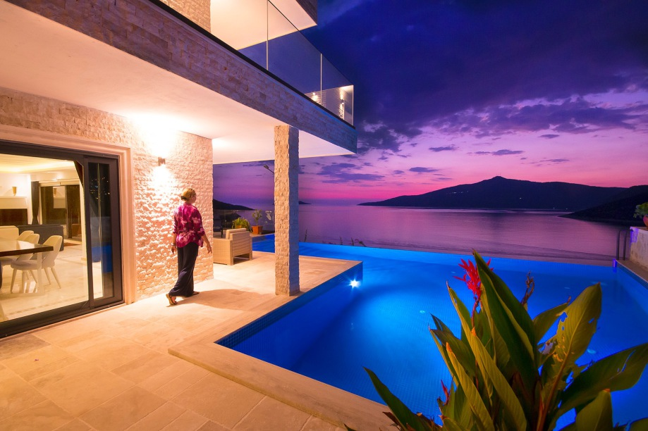 5-bedroom villa with pool in Kalkan