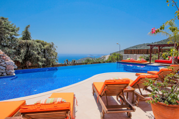 The Cactus House, luxury private villa for rent in Kalkan