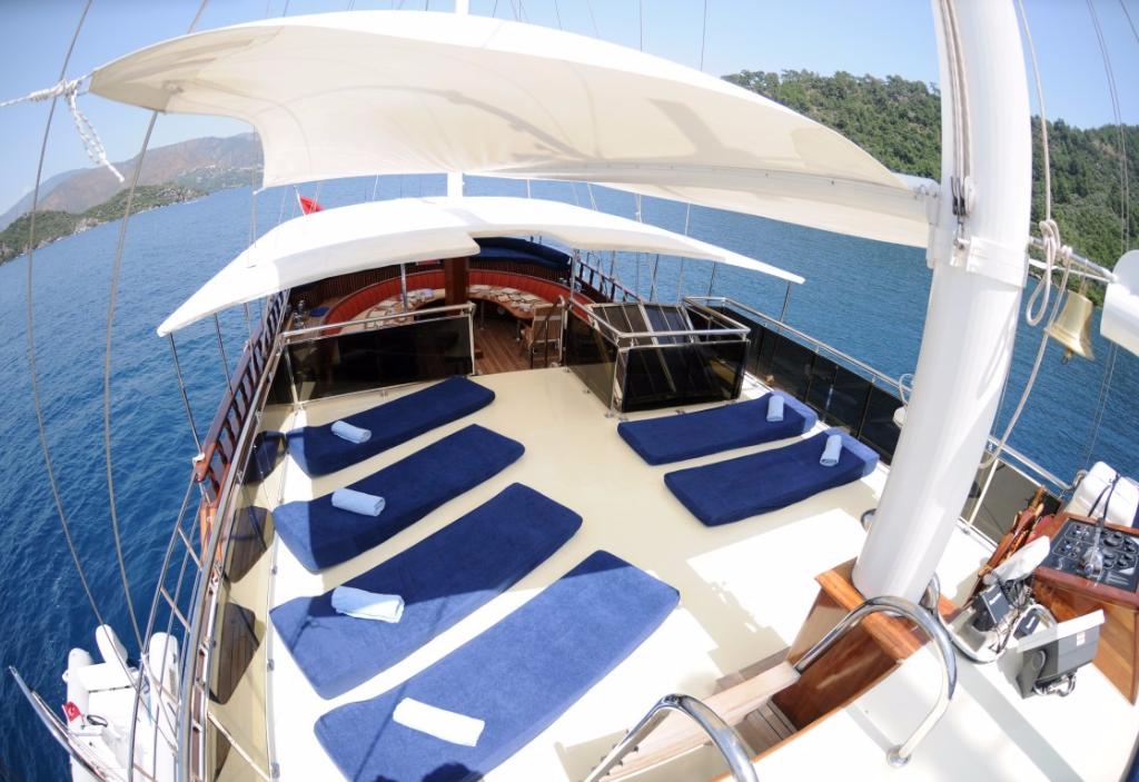 Gulet cruises in Kalkan