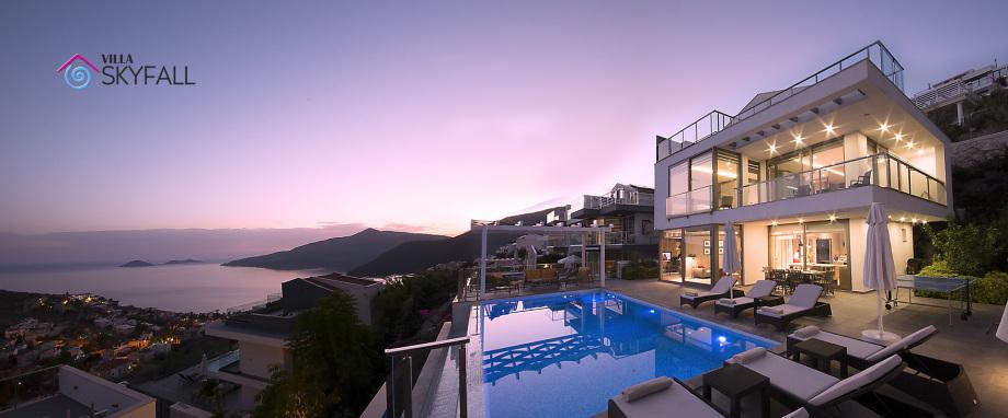 Villa Skyfall, Kalkan, Turkey