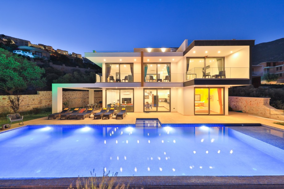 A 5 bedroom villa in Kalkan for holiday rental