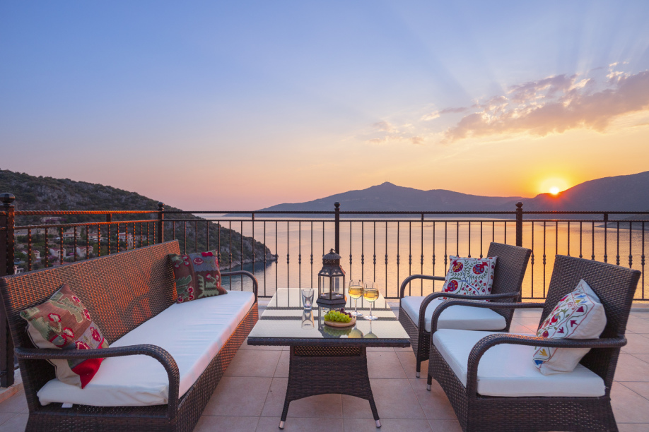 Villa Bergamot - a 3 bedroom villa in Kalkan for holiday rental