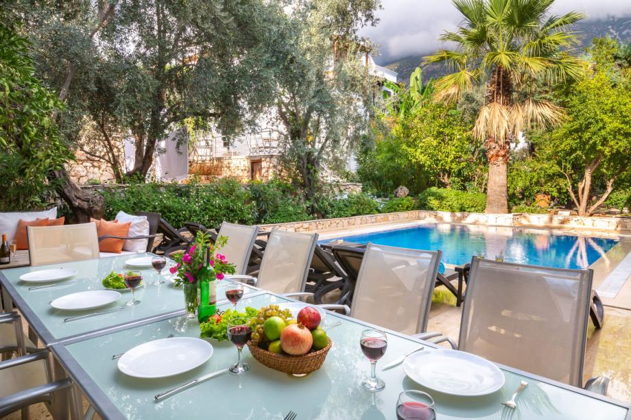 5 bedroom villa in central Kalkan with pool