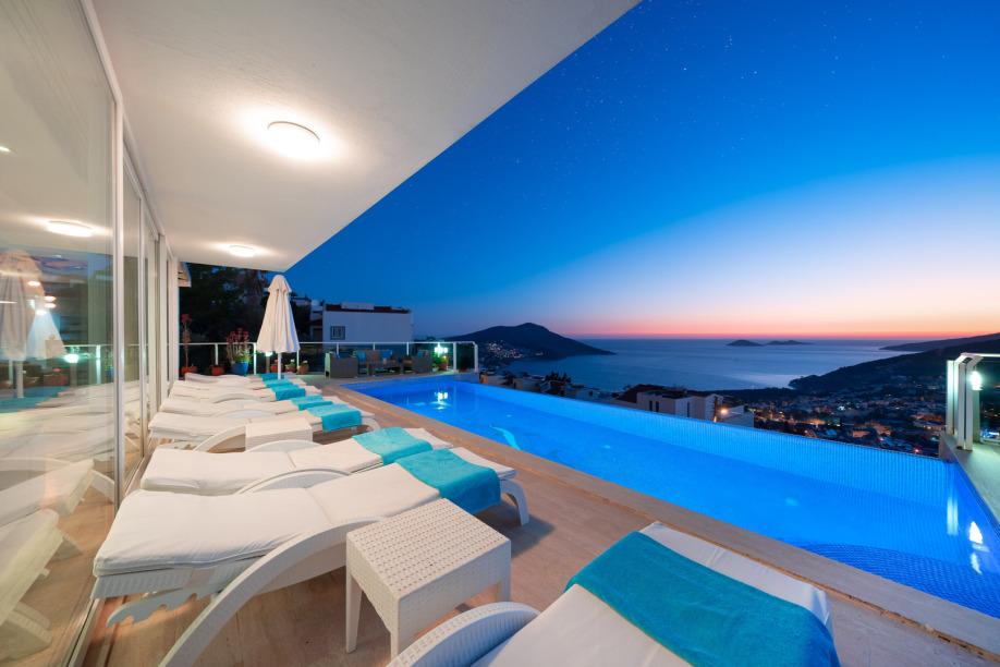 A 3 bedroom villa in Kalkan for holiday rental