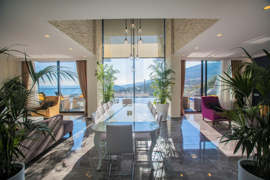 Luxury 4 bedroom villa in Kalkan for holiday rental