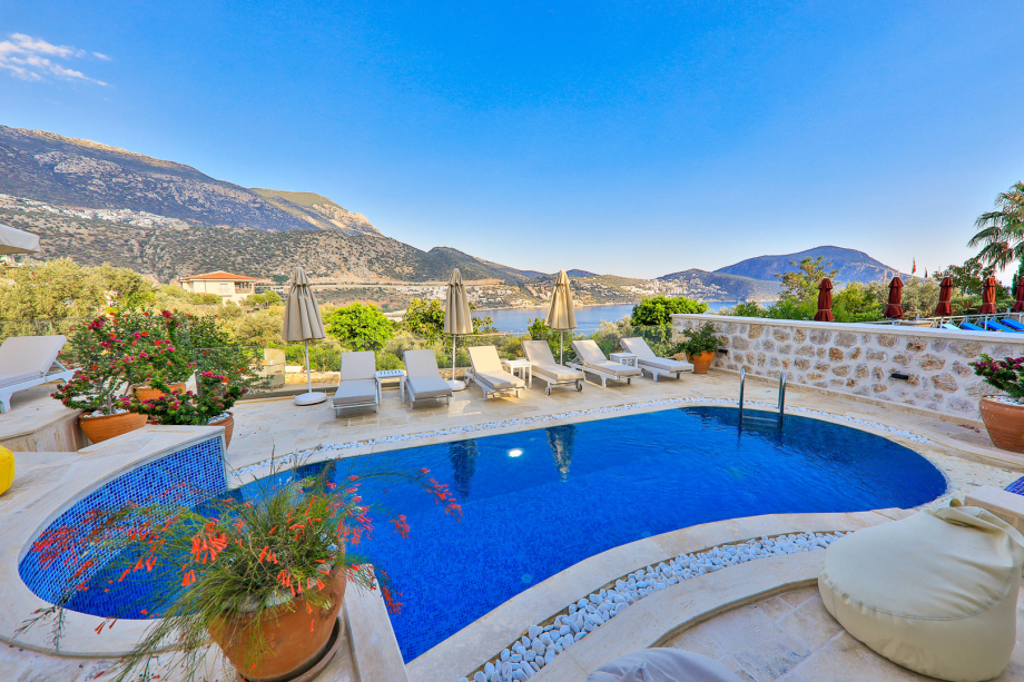 5 bedroom villa in Kalkan for holiday rental
