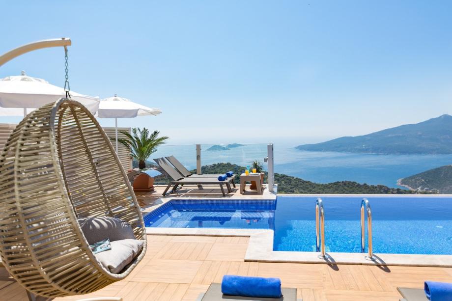 A luxury 4 bedroom villa in Kalkan, Turkey